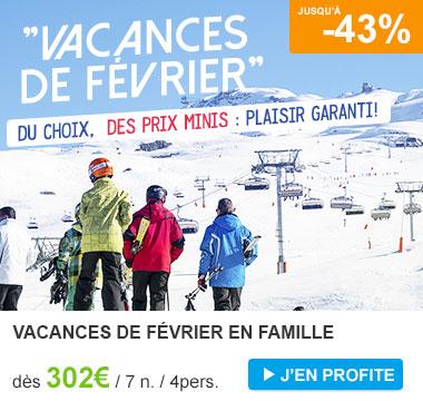 Vacances de février c'est parti pour le ski !