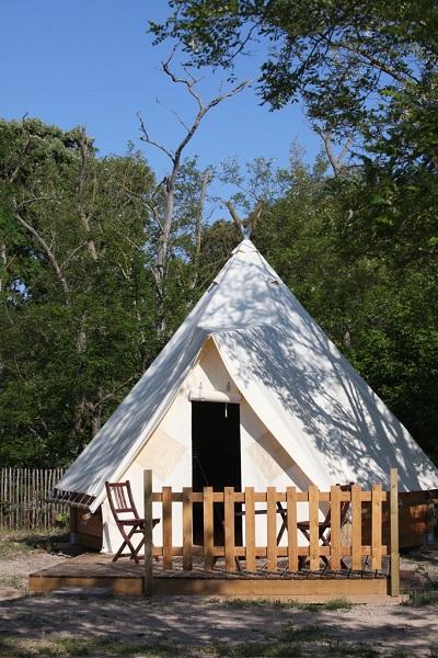 Camping de la bosse location noirmoutier - Camping noirmoutier tipi ...
